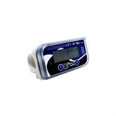 Разходомер електронен IN-LINE ADAM за храни (цвят бял)