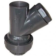 """Възвратен клапан за мръсна вода 1 1/4"""" FF PVC"""
